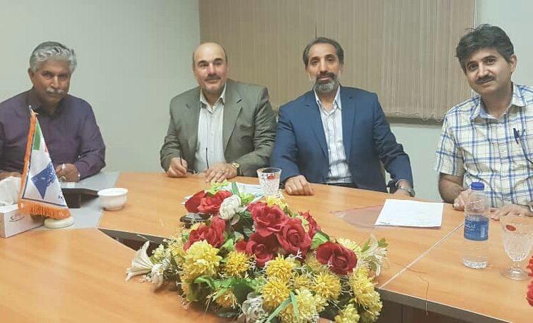 حضور اعضای هیئت مدیره در دفتر مرکزی معادن اسفندقه
